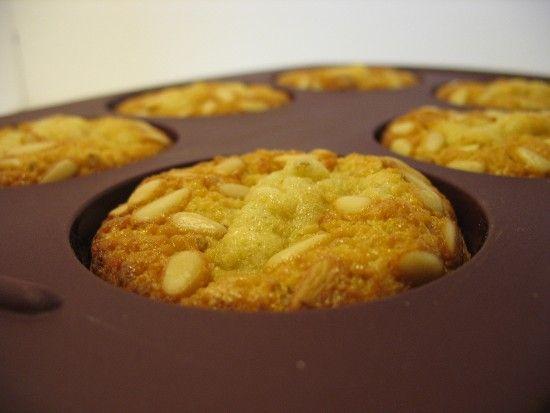 Muffins miel - pignons de pin