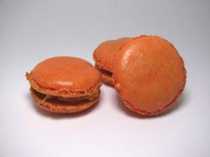 Macaron mandarine full