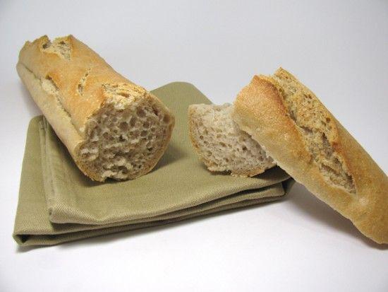 Baguette sans gluten sur poolish