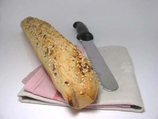 Baguette sans gluten au levain