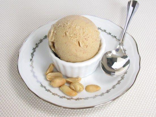 Glace cacahuete caramel