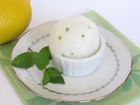 recette de Sorbet mojito