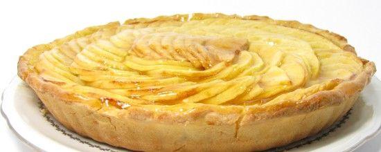 recette de tarte aux pommes patissière sans gluten - la faim des