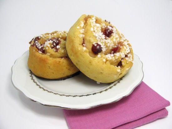 Esgargot brioche cranberries sans gluten