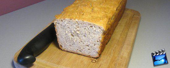 pain sans gluten au sarrasin vid o la faim des d lices. Black Bedroom Furniture Sets. Home Design Ideas