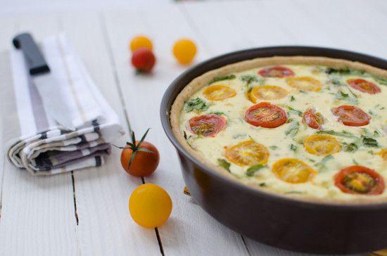 Tarte salée sans gluten chorizo tomate