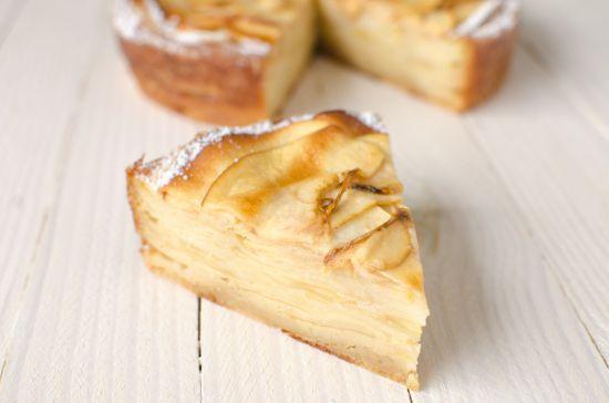 Recette de gateau invisible aux pommes sans gluten ni lactose