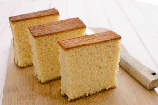 Gateau japonais sans gluten ni lactose