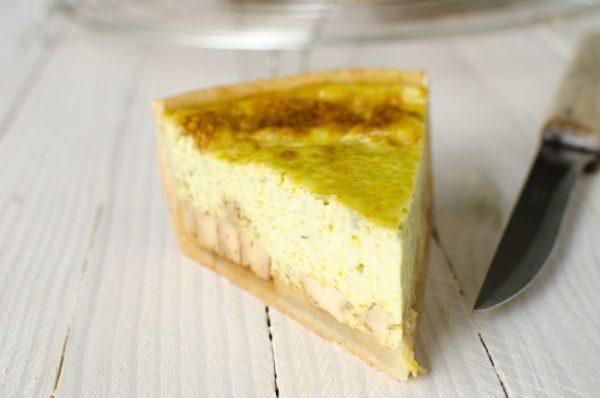 Recette quiche sans gluten ni lactose tofu coco