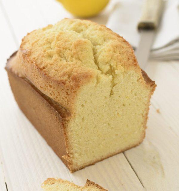 Cake sans gluten au citron bien moelleux