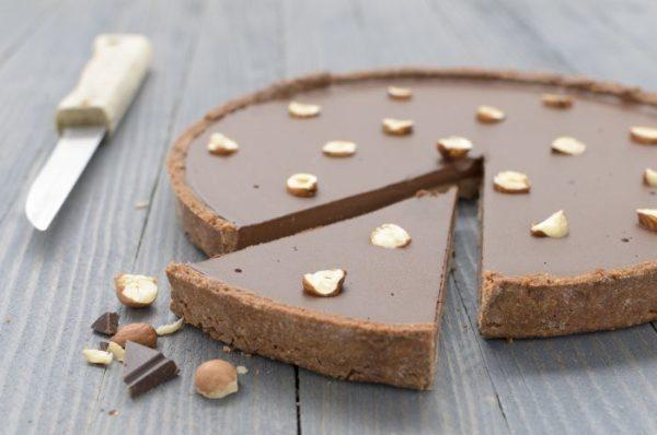 tarte sans gluten chocolat