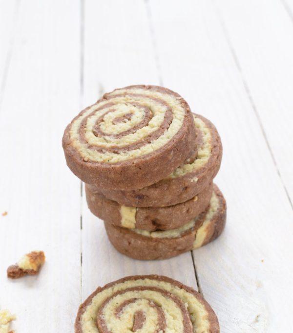 Recette de biscuit roulé chocolat vanille sans gluten