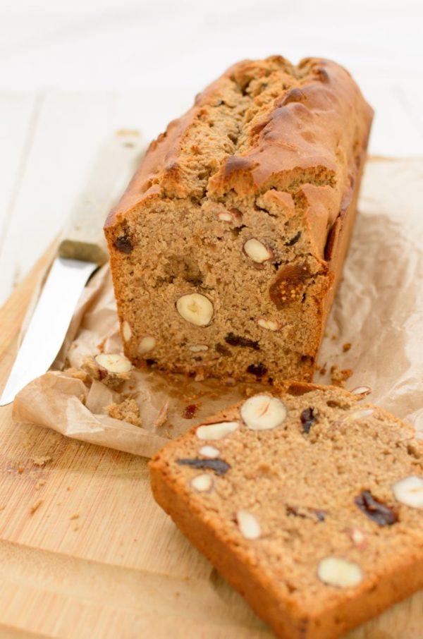 Recette de pain d'épices aux fruits secs sans gluten