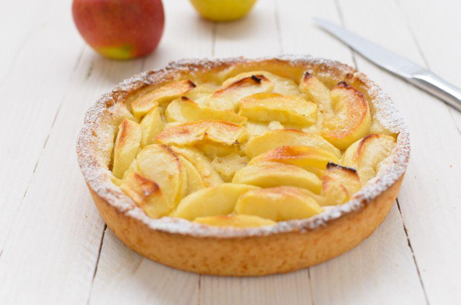 Tarte gourmande aux pommes et miel sans gluten