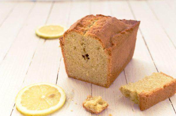 Recette de cake au citron sans sucre et sans gluten