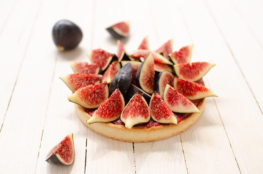Recette de tarte aux figues sans gluten