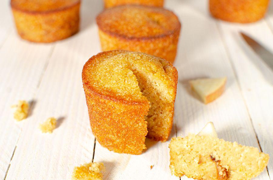 Muffins aux pommes sans gluten