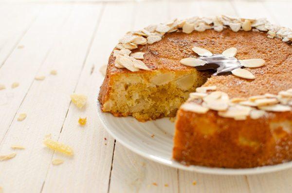 Gâteau poire et gingembre sans gluten