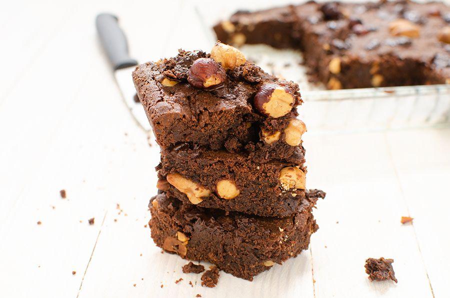 Brownie chocolat noisette et noix de cajou