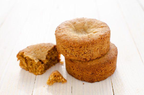 Palets bretons au sucre de coco sans gluten