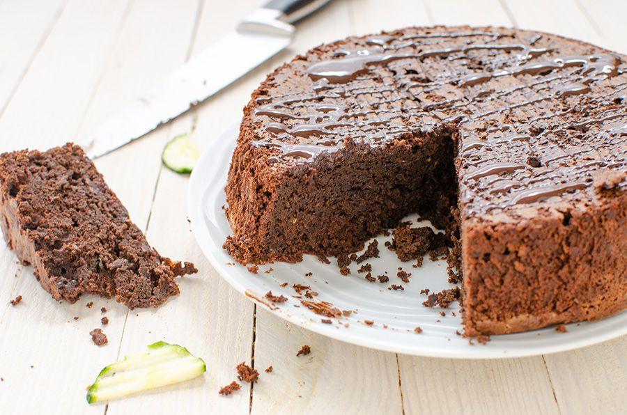 Gâteau au chocolat sans gluten et sans beurre