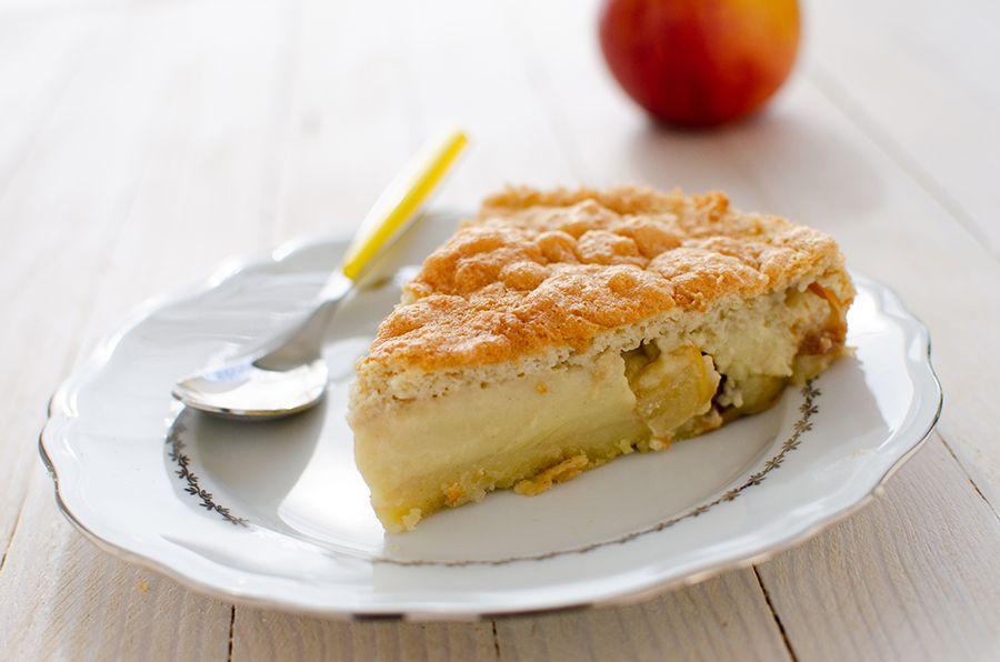 Gâteau magique aux pommes sans gluten