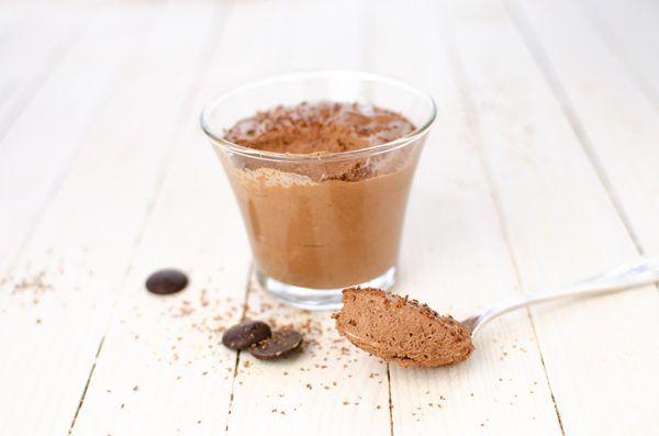 Mousse au chocolat vegan sans oeuf