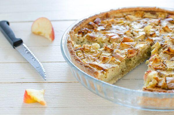 Tarte aux pommes normande sans gluten